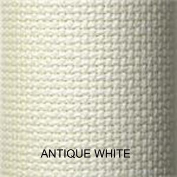 Image of CharlesCraft Aida 14ct Antique White 15 x 18""